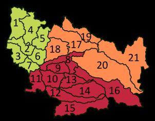 Comunas y provincias de la Región de Ñuble
